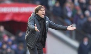 Conte tỏ ra thất vọng về kết quả trận đấu