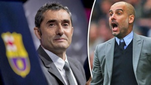 HLV Ernester Valverde sẽ san bằng kỷ lục người tiền nhiệm Pep Guardiola