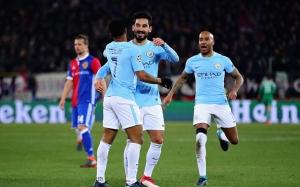Man City chủ động cầm bóng và hầu như không cho Basel có cơ hội tiếp cận cầu môn