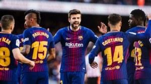 Barca vẫn bất bại tại La Liga 201718