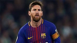 Lionel Messi của Barcelona là cầu thủ xuất sắc nhất ở 5 giải đấu hàng đấu châu Âu