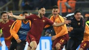 Roma tạo nên cuộc ngược dòng trước Barca