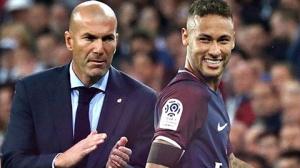 Zidane và Neymar đang ở rất gần nhau