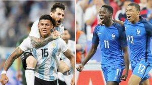 Pháp - Argentina Cuộc chạm trán trong mơ