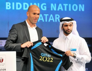 Zinedine Zidane đến Qatar để dẫn dắt đội tuyển quốc gia dự World Cup 2022