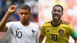 5 cuộc đối đầu đáng chú ý giữa Pháp và Bỉ