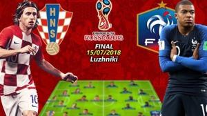Hành trình đến chung kết của Pháp và Croatia